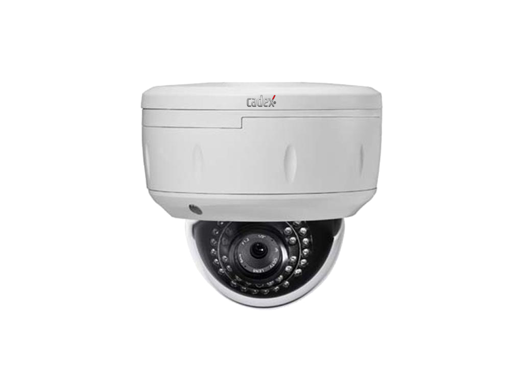 Cadex CX-3120 2.0Mp 2.8-12mm Poe Sd Kart Ip Dome