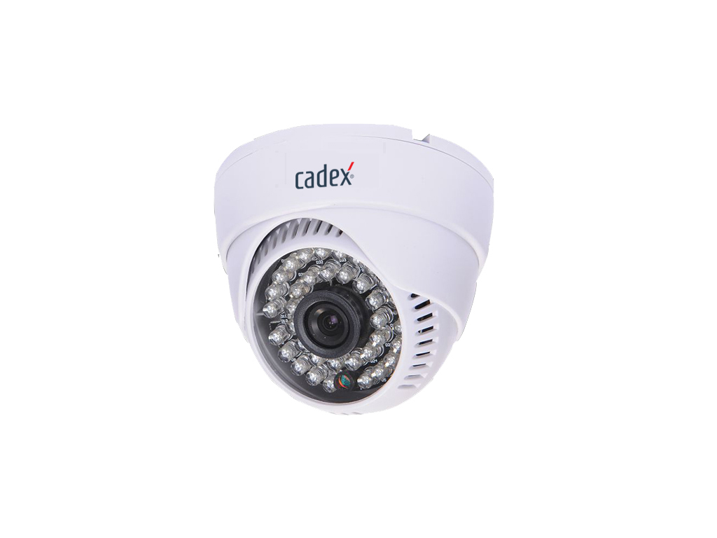 Cadex CX-9036 Ahd 1 Mp 3.6mm 36Led Dome Kamera